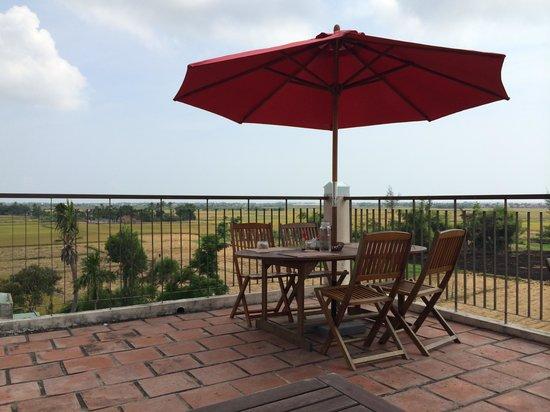Hoi An Green Life Apartment: Rooftop terrace