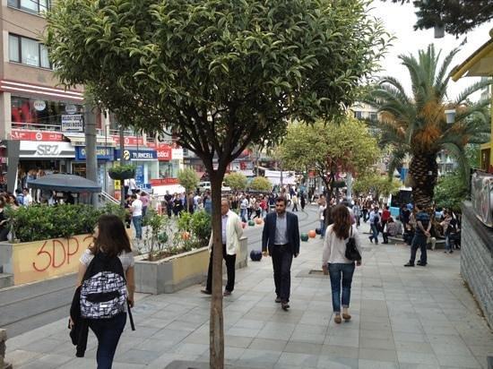 Bahariye Street/Caddesi - Picture of Kadikoy Istanbul Boga ...