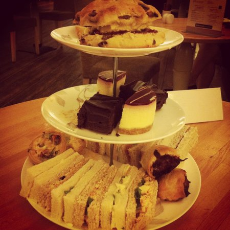 Weetwood Hall Hotel: Afternoon tea selection