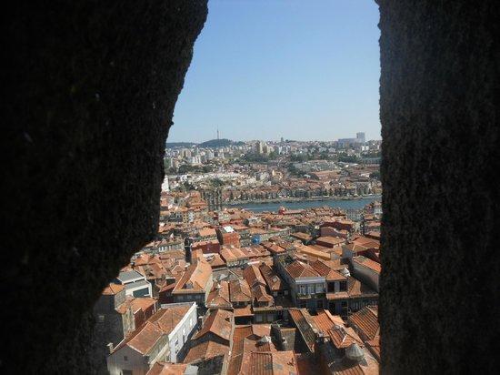 Clerigos Tower : Vista da Torre dos Clérigos