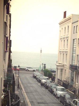 Brighton Marina House Hotel: view from room 4 balcony