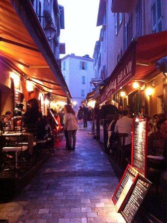Le Suquet : Rue do Suquet