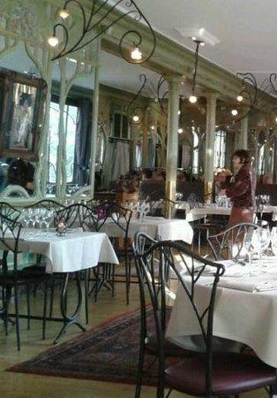 Bouillon Racine : sala al piano superiore