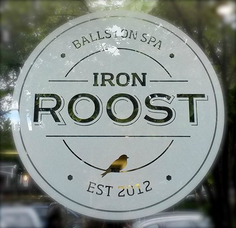 Iron Roost: Window Sign