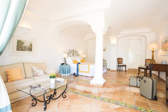 Caesar Augustus Hotel: Sea view suite with private garden