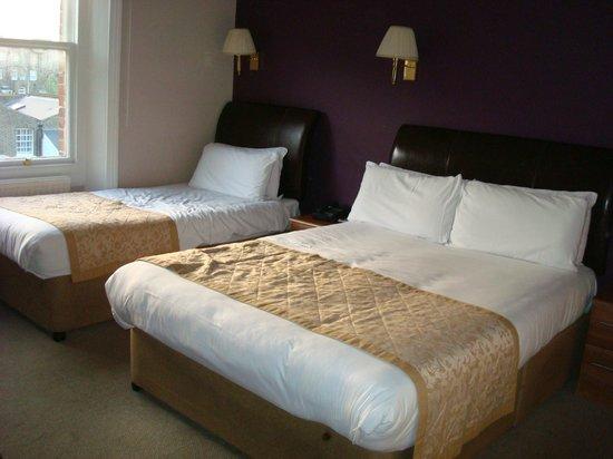 Best Western Burns Hotel Kensington: chambre 320