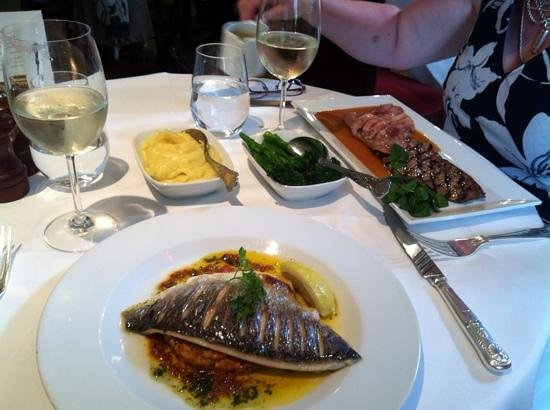 Langans Brasserie : our main courses