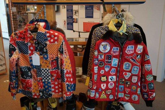 New England Ski Museum : Old Ski Jackets