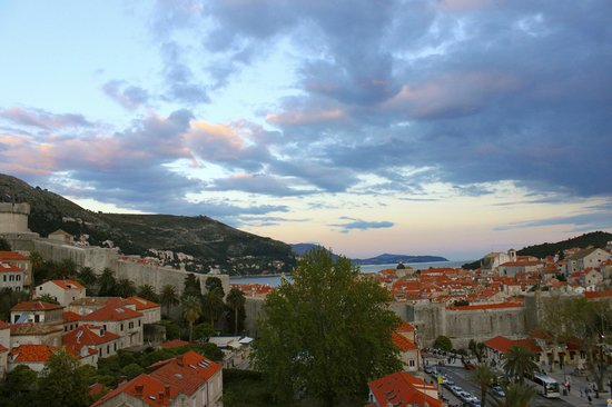 Hilton Imperial Dubrovnik: View from Balcony