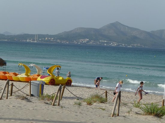 Family Life Alcudia Pins: Beach View