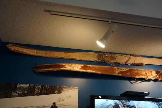 New England Ski Museum: First Skis