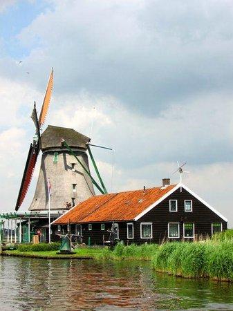 Zaanse Schans : A vila dos moinhos