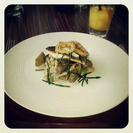 Damson Restaurant: Sea Bass Main