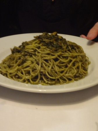 La Esquina de Buenos Aires: Basil Spaghetti, good as well
