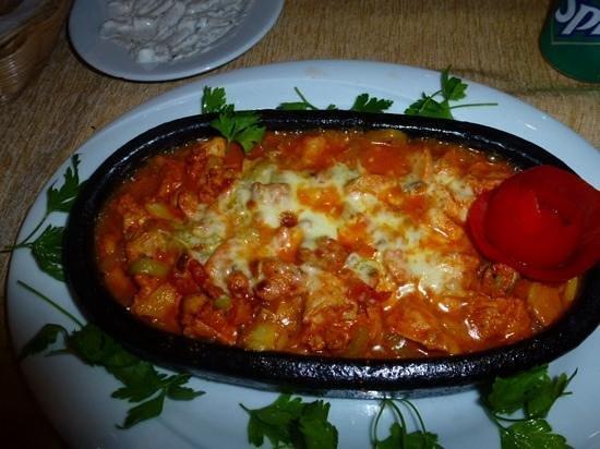 Ayasofya Kebab House: Casserole poulet champignons