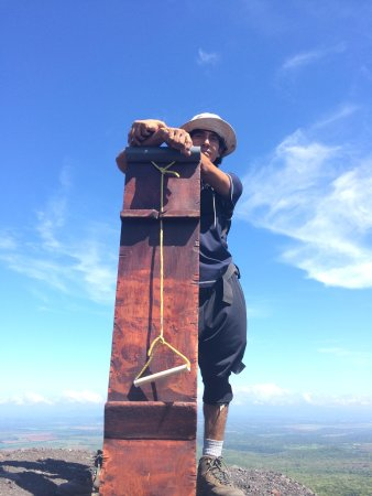 Cerro Negro Volcano: Local guide Flavio