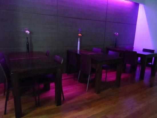 La Blanca Hotel: Sala de café