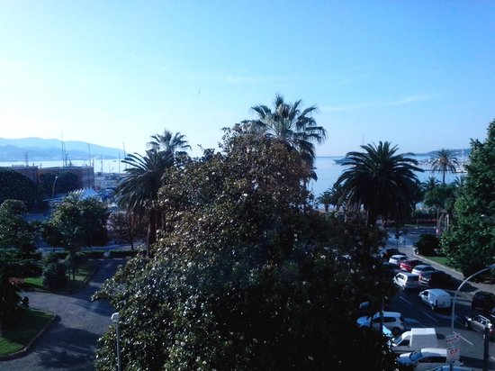 NH La Spezia : FUORI DALLA FINESTRA DELLA CAMERA