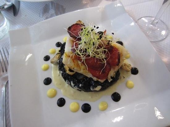 Le Petit Gourmand: Squid Ink Risotto