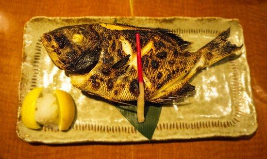 Tei Tei Robata Bar: Grilled Sea Bream