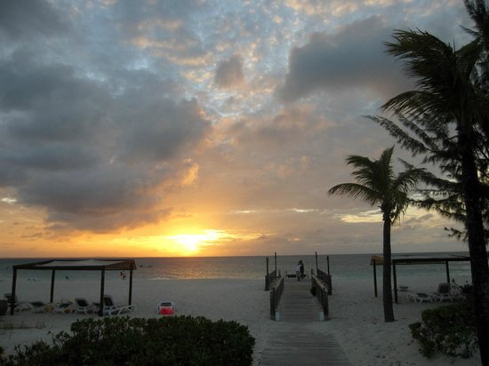 Club Med Turkoise, Turks & Caicos : sunset at the CM beach