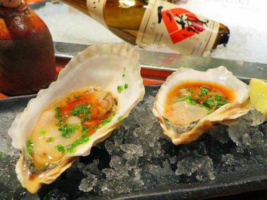 Tei Tei Robata Bar: Oysters