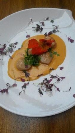 Restaurant Chez Amis: Seared scallops
