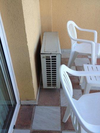 Tryp Malaga Guadalmar Hotel : Le balcon