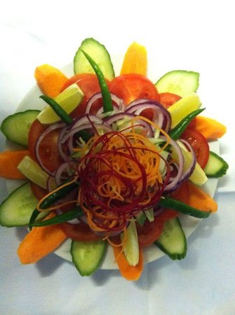 Hounslow, UK: Green salat