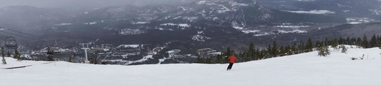 Sunday River Resort: Skier Enjoying View