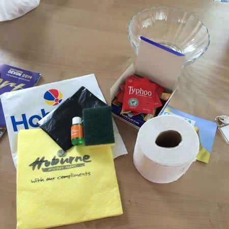 Hoburne Devon Bay: Welcome pack