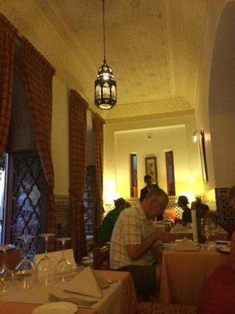 Pepe Nero : salle de restaurant