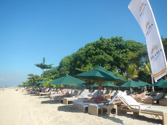 Prama Sanur Beach Bali: The lovely beach