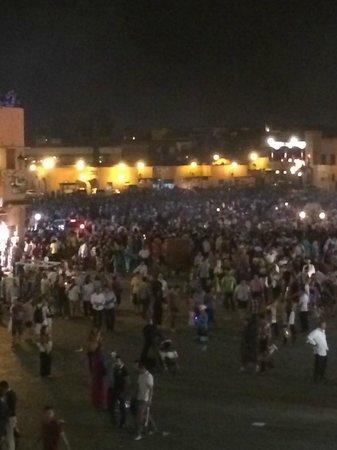 Jemaa el Fna : jemma la nuit