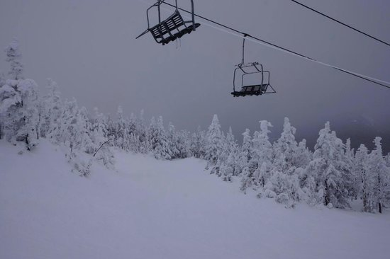 Sugarloaf Mountain: Icy Top