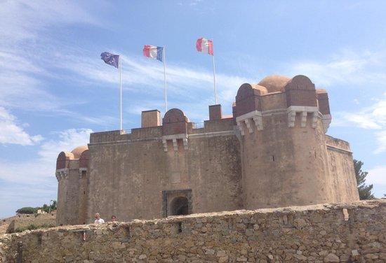 Citadelle de Saint-Tropez - Musee d'histoire maritime: Citadelle itself