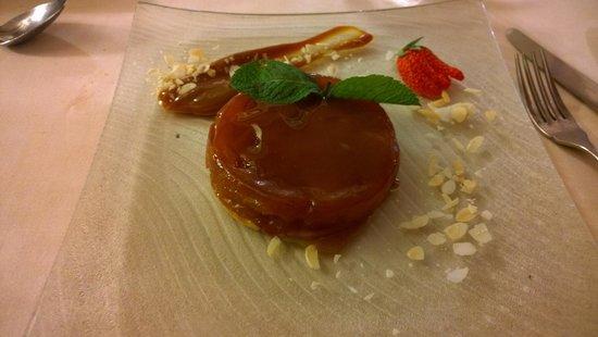 Parc 23 : caramel apple tart