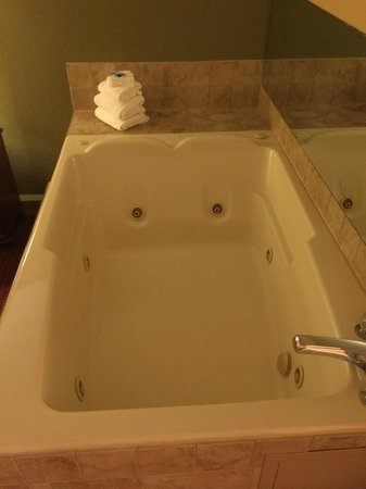River Terrace Resort & Convention Center: 2 person whirlpool