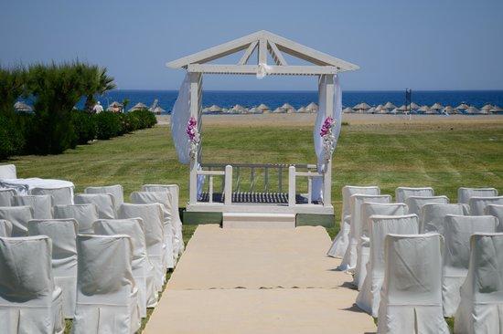 Atrium Palace Thalasso Spa Resort & Villas: Ceremony