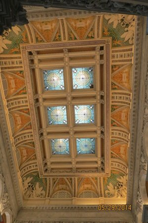 Library of Congress: Ceiling