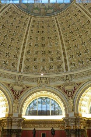 Biblioteca del Congreso: dome