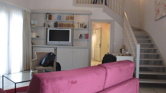 Les Manoirs de Tourgéville : Living Room
