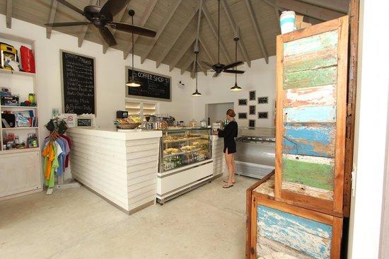Cooper Island Beach Club Restaurant: New Coffee Shop