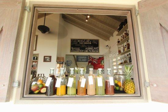Cooper Island Beach Club Restaurant: New Rum Bar