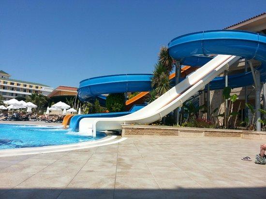 Crystal Paraiso Verde Resort & Spa: toboggans
