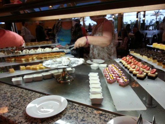 Crystal Paraiso Verde Resort & Spa : resto