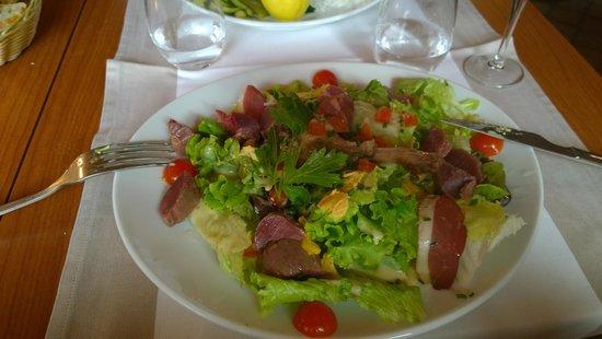 La Chalosse : Duck salad