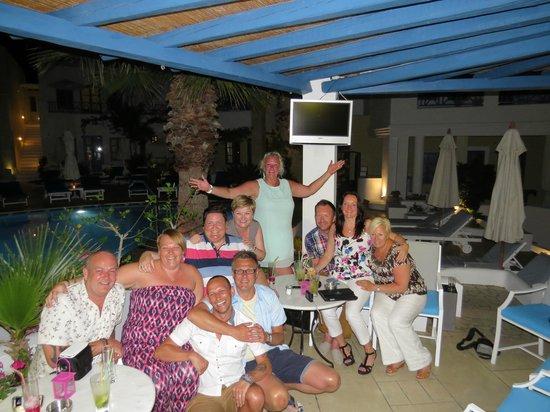 Tamarix del Mar : Last night in the bar area