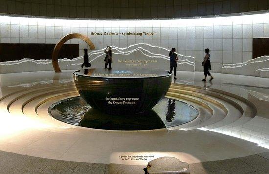 Monumento de Guerra de Corea: memorial hall 1