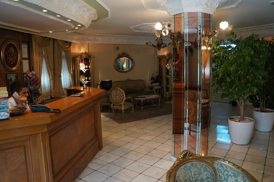 Hotel Valide Sultan Konagi : Lobby